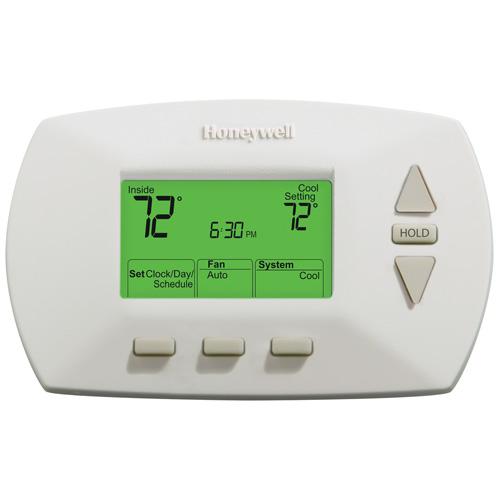 Thermostat, système central, programmation 5-1-1, 24 V