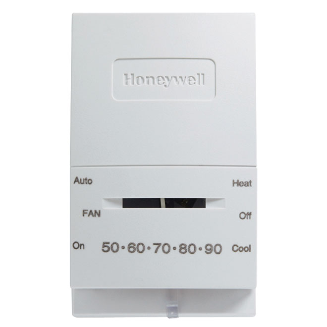Thermostat mécanique, 24 V, blanc