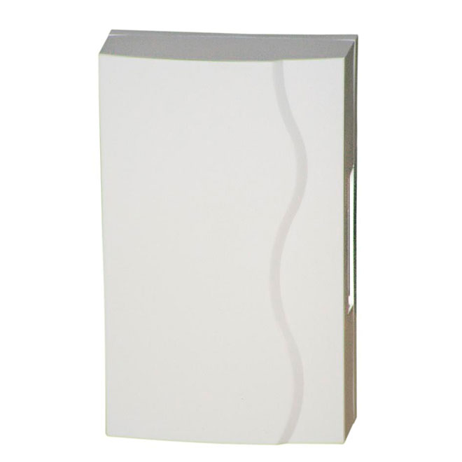 Chime - Wired or Battery- 2 Chimes - White