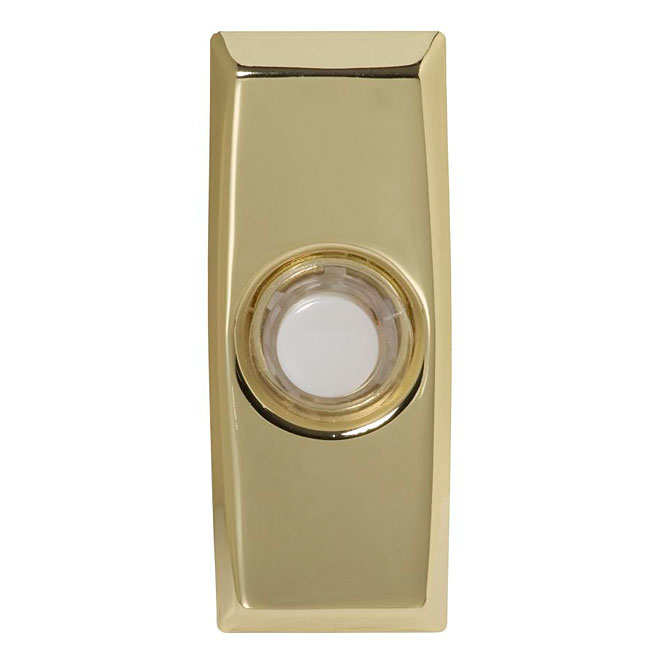 Wired Door Chime - Illuminating - Brass