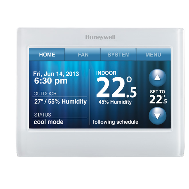 """Programmable """"Wi-Fi"""" Thermostat"""
