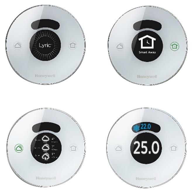 Lyric 2 0 Wi-Fi Thermostat - Silver