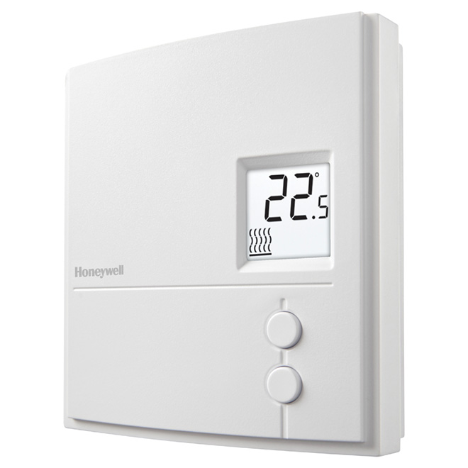 Thermostat électrique manuel Honeywell, 3000 W, blanc