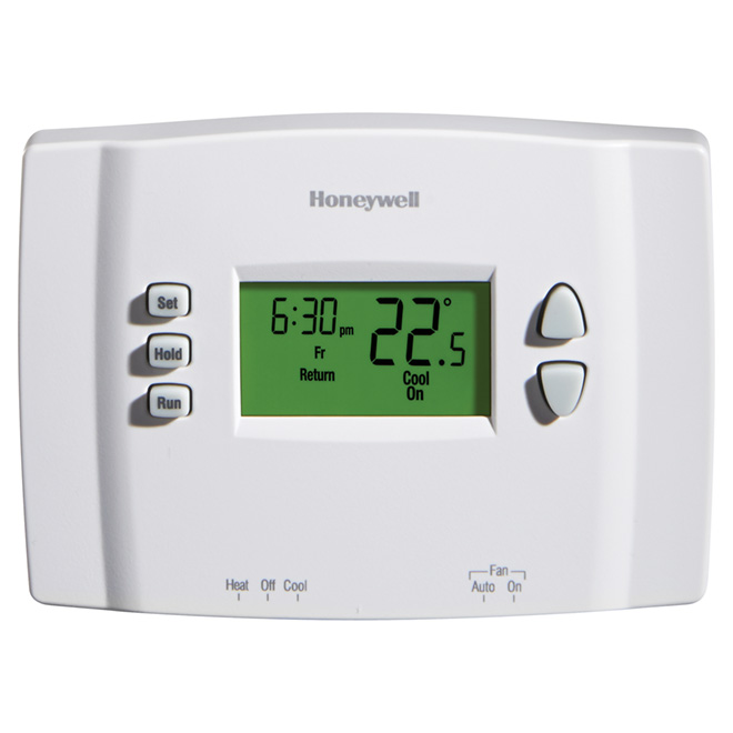 Electric 7-Day Programmable Thermostat - 24 V - White
