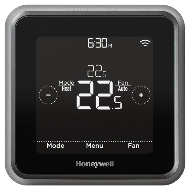 Thermostat à programmation intelligente Wi-Fi «Lyric T5», noir