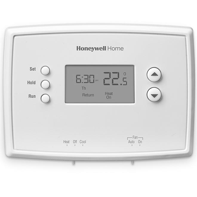 Honeywell RTH221B Series Thermostat with Digital Programming