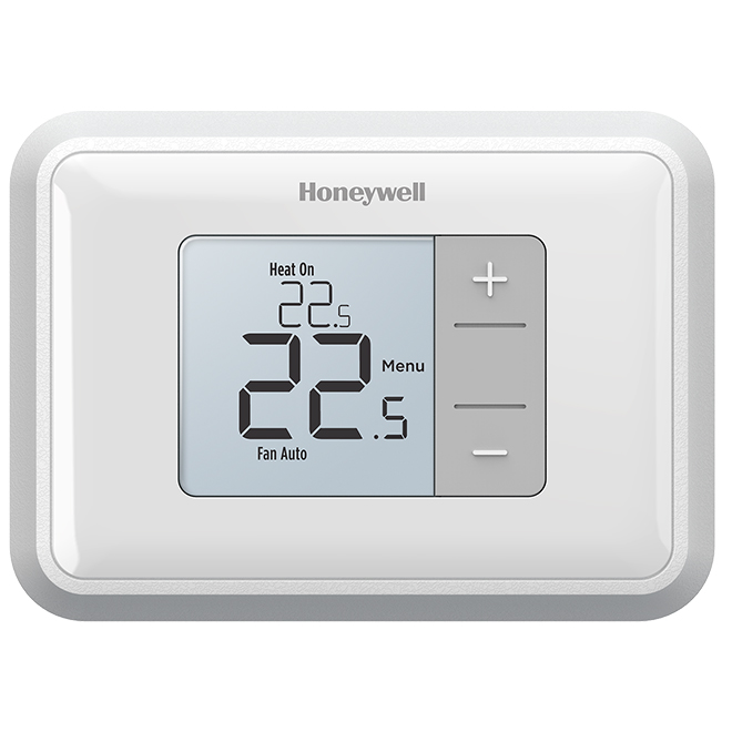 Honeywell Battery Thermostat - Non-Programmable - White