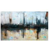 "Decorative Canvas 24 x 48"" - Abstract"