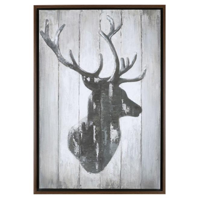 Wood Wall Art - Deer