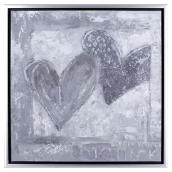 Canevas décoratif - Hearts
