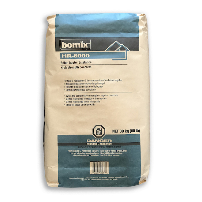 High-Resistance Concrete Mix - HR-8000 - 30 kg