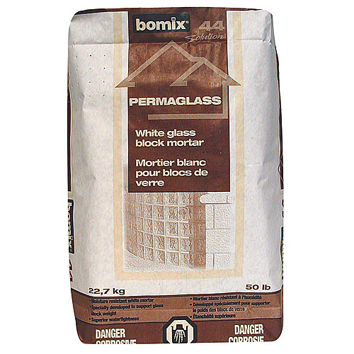 Glass Block Mortar - White - Permaglass - 22 kg