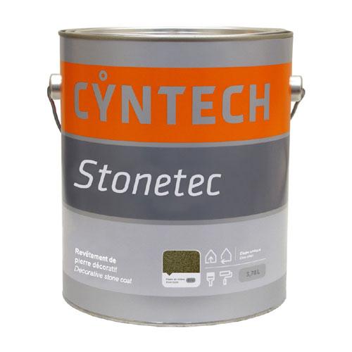 Revêtement de pierre décoratif Stonetec par Cyntech, pierre de rivière, 3,78 L, intérieur/extérieur, uréthane