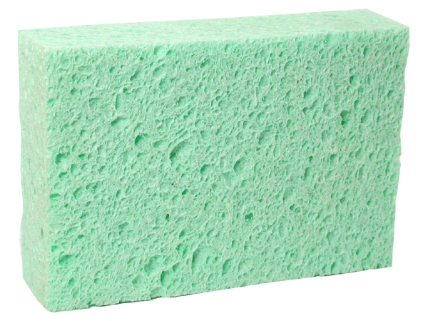 "Rectangular Sponge 6"" x 4"" x 1 1/2"""