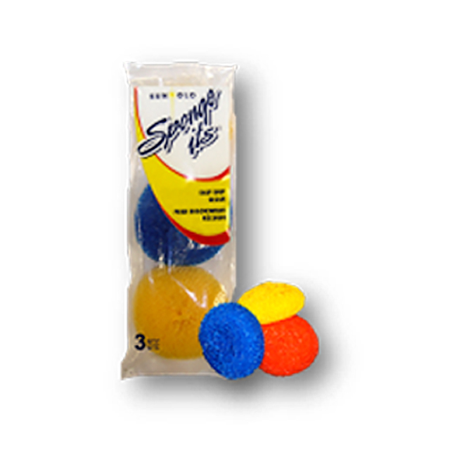 Scouring Pads for Pots - Pack of 3