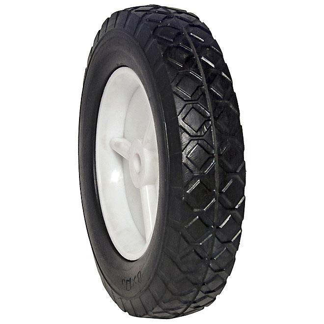 """Lawn Garden Wheel - 110 lb Capacity - 6"""""""