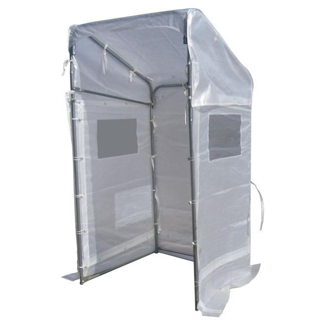 Portico Winter Shelter - 4' x 4' - White