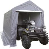 Car Shelter - Polyethylene and Steel - 7' x 12' - Noble Grey