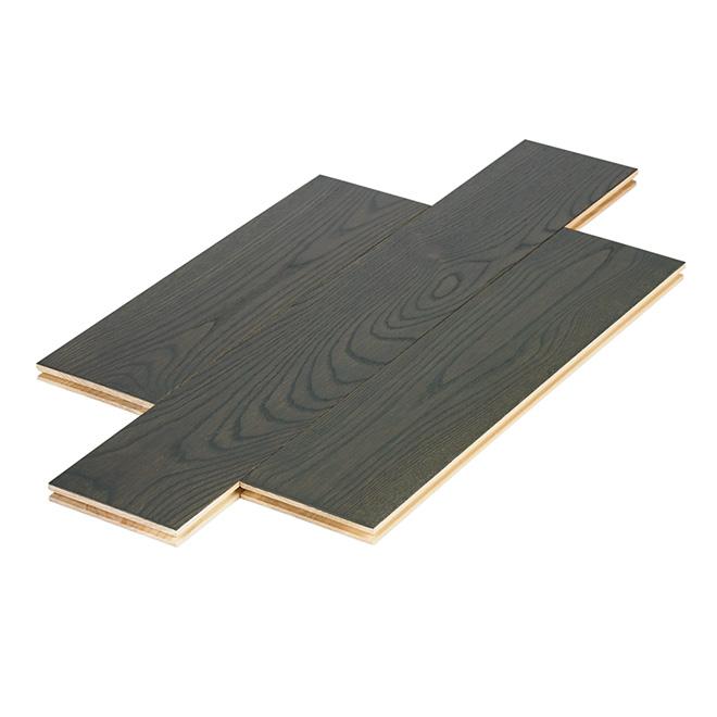 Plancher de bois franc préhuilé 3/4 x 5 1/4 po - Tulum