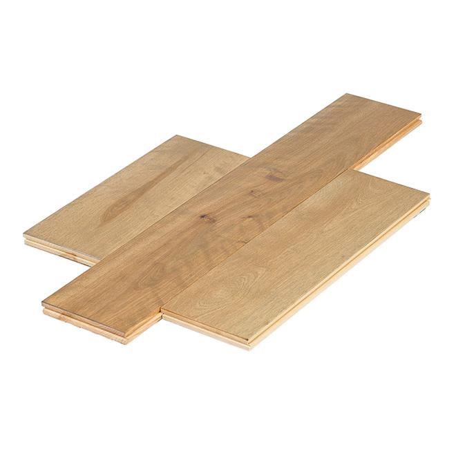 """Pre-Oiled Hardwood Flooring - 3/4"""" x 5 1/4"""" - El dorado"""