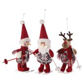 "Tree Hanging Plush Ornaments - 6.5"" - Assorted"