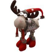 "Big Festive Four-Legged Reindeer - 48"""