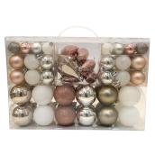 Holiday Living Christmas Balls - Snow Angel - Multicolour - 100/Pack