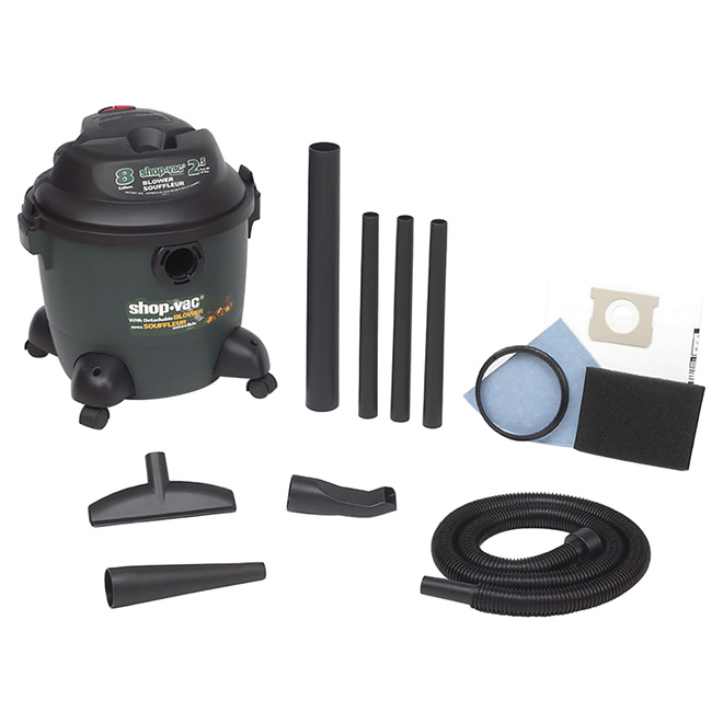 Wet and Dry Vacuum Blower