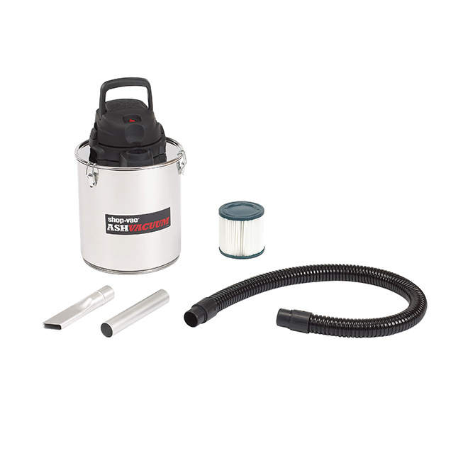 Shop-Vac Stainless Steel Ash Vacuum - 6 A - 5-Gallon