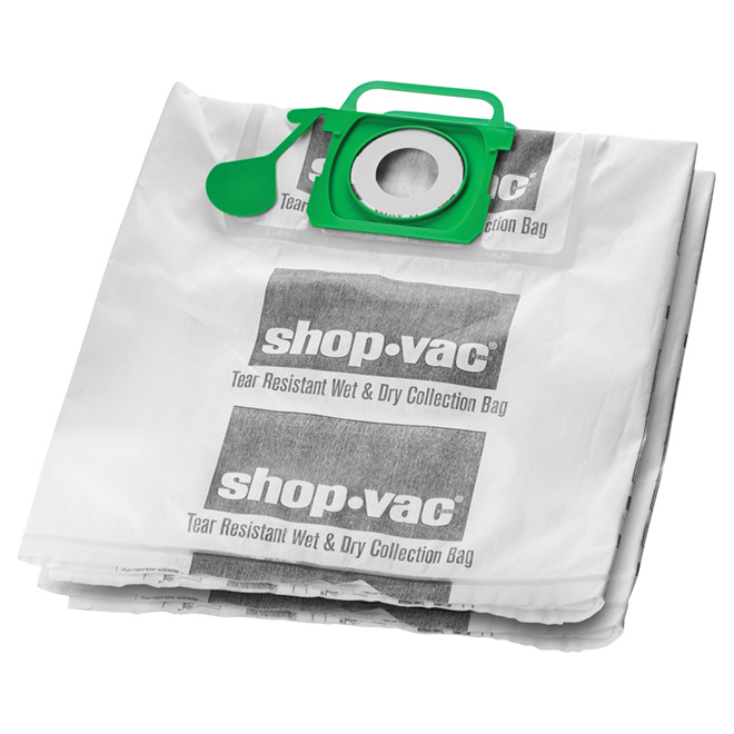 Vacuum Filter Bags - 18 to 37 L - Pack of 2
