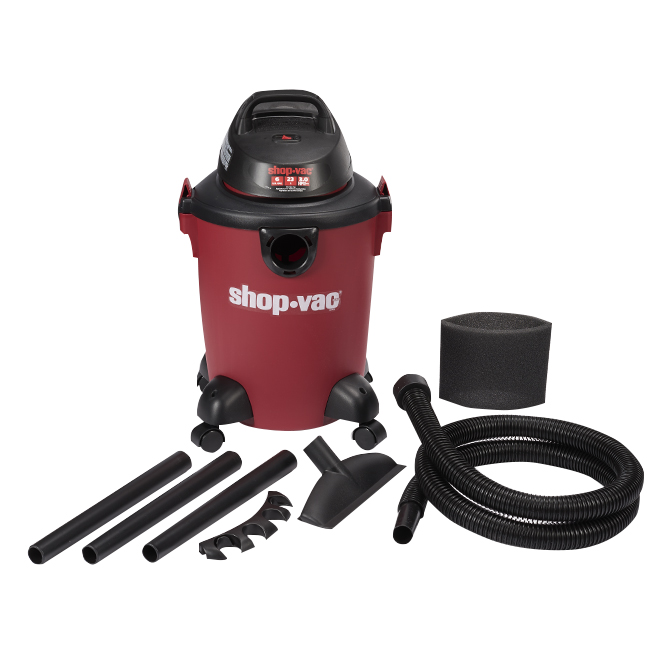 Shop-vac Wet and Dry Vacuum 3.0HP - 6 gallons 59827-82