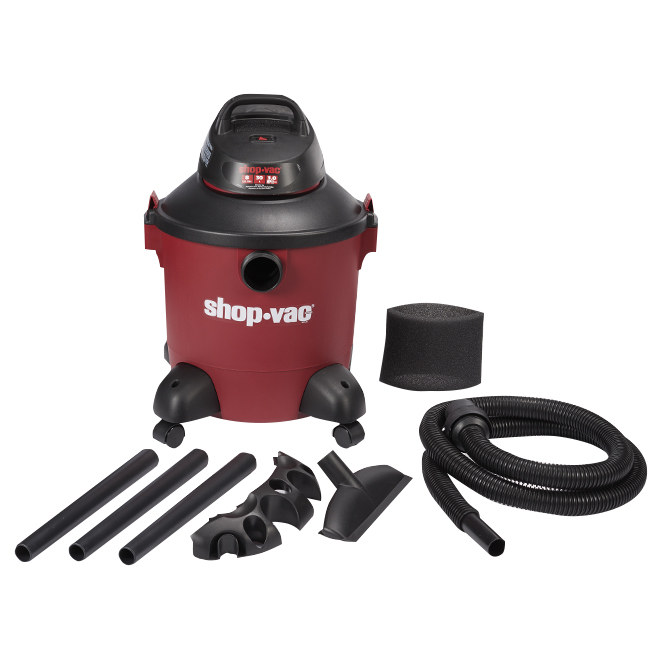 Wet and Dry Vacuum 3.0HP - 8 gallons