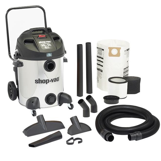 Wet/Dry Vacuum 14-gal. - 6.5 Peak HP