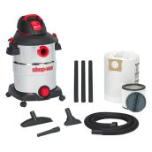 Wet and Dry Vacuum 6.0HP - SS - 12 gallons