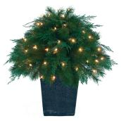 "70-Light Outdoor Topiary - 129 Tips - 26"" x 28"""