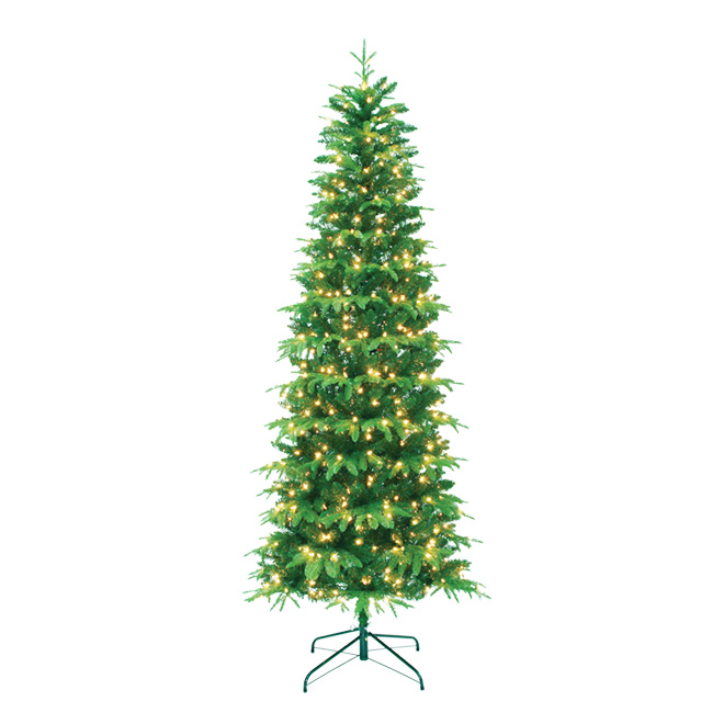 UBERHAUS Pre-Lit Christmas Tree - 600 Lights - 1646 Tips - 7.5' 6551 ...