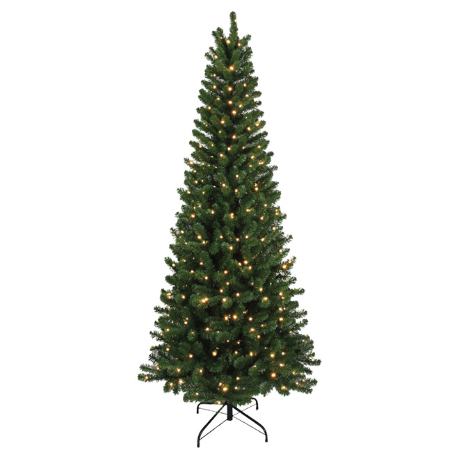 UBERHAUS Pre-Lit Christmas Tree - 400 LED - 811 Tips - 7' 6551 ...
