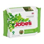 Engrais en bâtons Jobe's, 1,98 lb, 9/packet