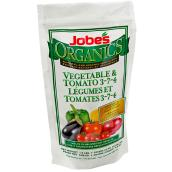 Jobes Tomatoes and Vegetable Fertilizer - 1.5 Lbs - 3-7-4
