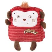 Dog Toy - Polyester Monkey - Red