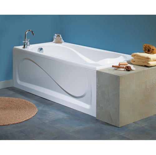 """Maax Acrylic Bathtub - Cocoon - 60"""" x 32"""" x 21"""" - White"""