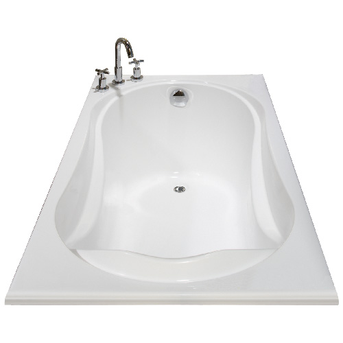 """Cocoon"" Rectangular Bathtub"
