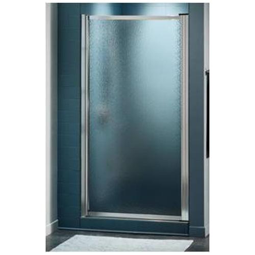 Maxx Tempered Glass Shower Door - Framed - Raindrop - 28 3/4-in W x 64 1/2-in H