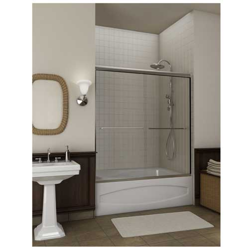 doors p frameless handle tub nx l with sliding nickel in kohler levity x door bathtub semi