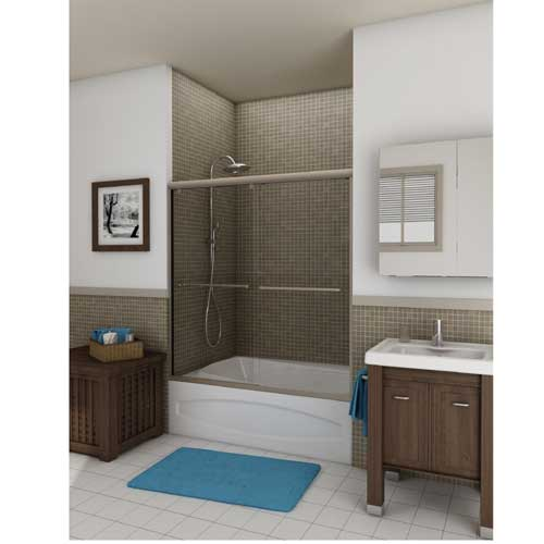 home today doors dreamline frameless aqua garden door overstock in tub hinged free product shipping