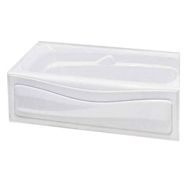"""Maax Acrylic Bathtub - Corinthia II - 60"""" x 30"""" - Right"""