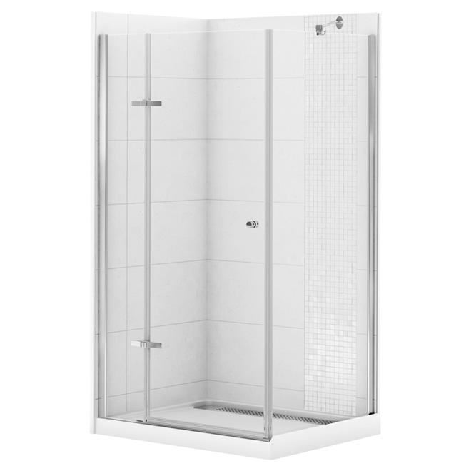 marvelous corner ideas kit inch american round contemporary kits bath shower exterior