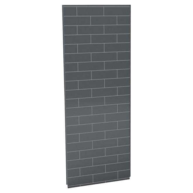 "UTile Shower Wall Panel - Metro - Thunder Grey - 32 1/2"""