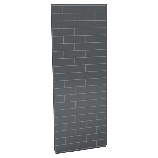 UTile Shower Wall Panel - Metro - Thunder Grey - 48""