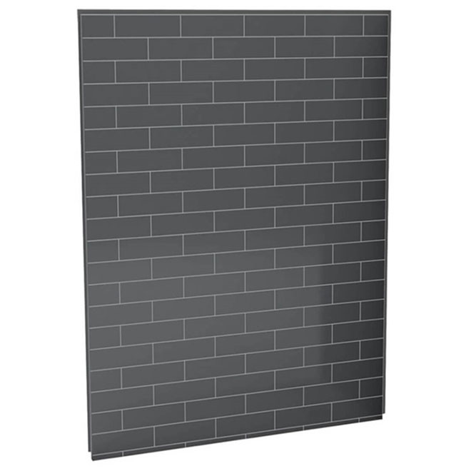 "UTile Shower Wall Panel - Metro - Thunder Grey - 60"""